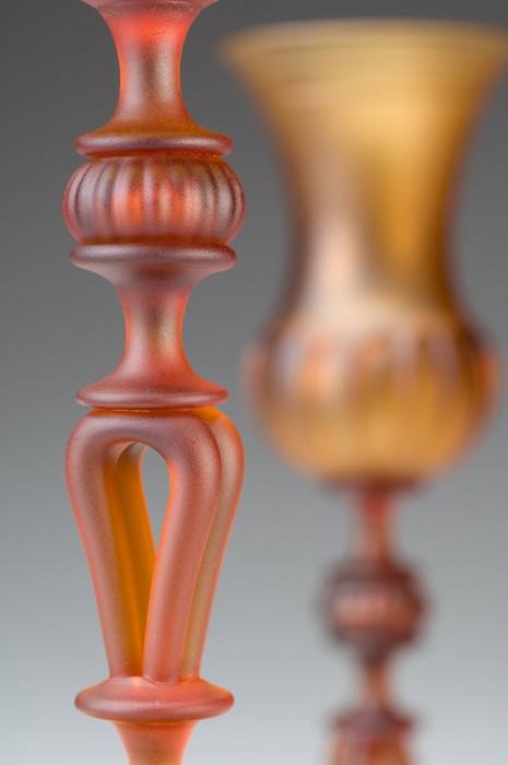 Satin Gold Goblet Detail
